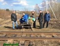 График движения поездов «Вохтога — Каменка - Вологда